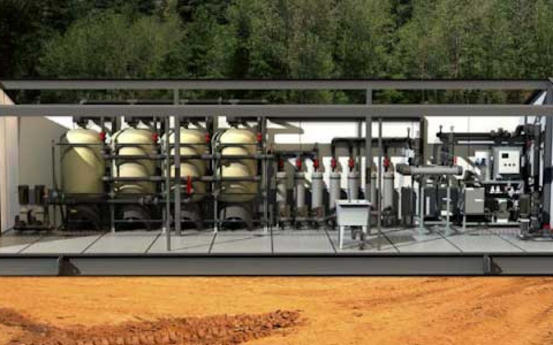 Growing a Green Water Treatment Plant Ymir BC